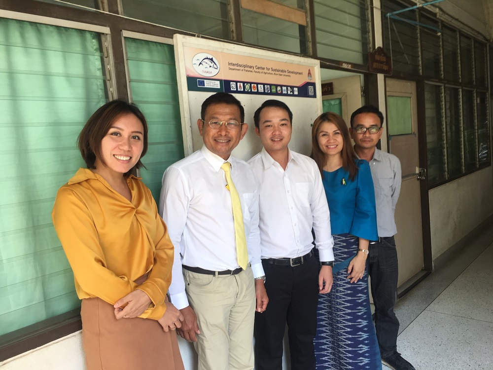 KKU introduce TUNASIA project to the CP Bangladesh