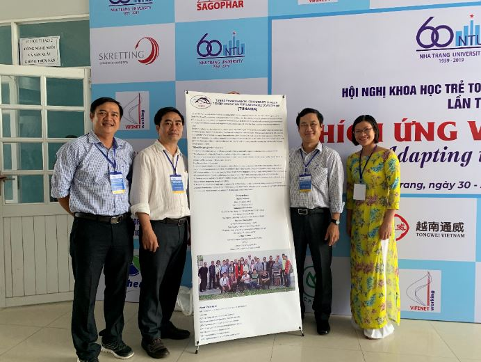 NTU introduced the TUNASIA project at the national symposium