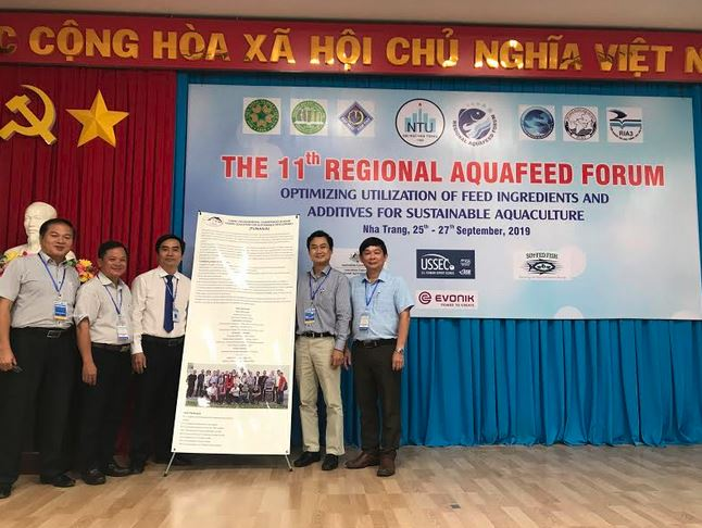 The TUNASIA project is introduced at the 11th Regional Aquafeed Forum (RAF 11)