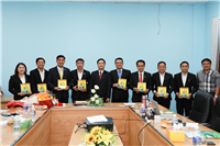 Memorandum Of Understanding Singing Ceremony between Faculty of Fisheries, Nong Lam University Ho Chi Minh City and CP Vietnam Corporation